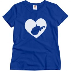 West Virginia In My Heart State Pride T-Shirt