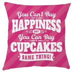 Can't Buy Happiness Can Buy Cupcakes Foodie Gift