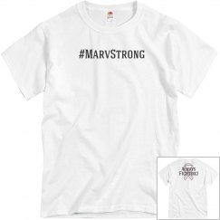 Mens #MarvStrong Tee