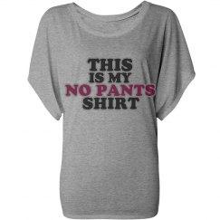 No Pants Shirt