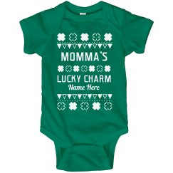 Momma's Lucky Charm St. Patrick's Baby