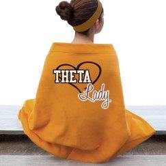 Theta Lady blanket