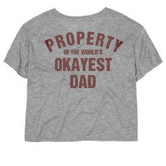 Property of the world's okayest dad