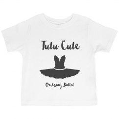 Youth Tutu Cute Ruffle Shirt