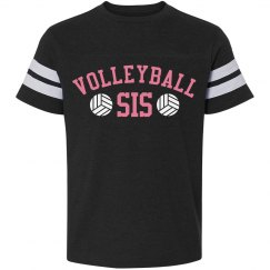 Volleyball Sis Tee