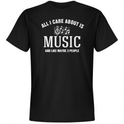 Care about is music