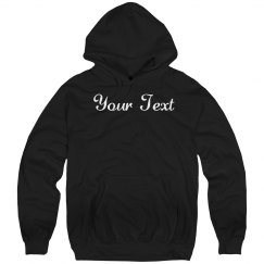 Custom Scripty Hoody