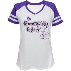 Fibromyalgia Fighter Sporty Tee