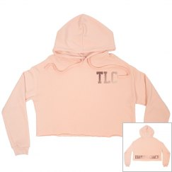 TLC Rose Gold Diamond Coach Hoodie