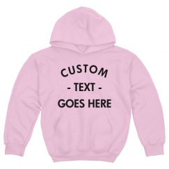 Create A Custom Youth Hoodie