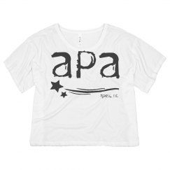 Ladies Crop Top APA