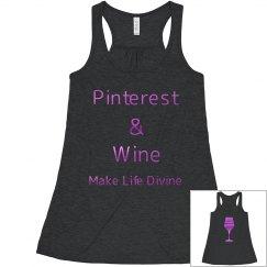 Pinterest & Wine