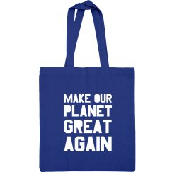 Sport Bag Make Our Planet Great