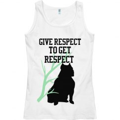 give respect to get it