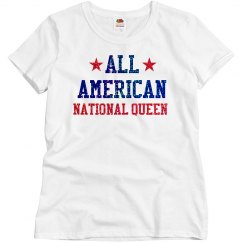 Appearance All American National Queen