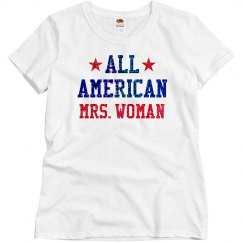 Appearance All American Mrs. Woman