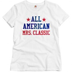 Appearance All American Mrs. Classic