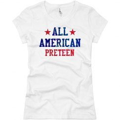 Appearance All American Preteen