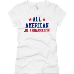 Appearance All American Jr. Ambassador