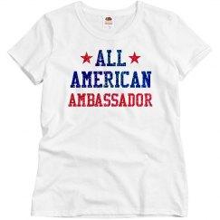 Appearance All American Ambassador