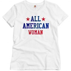 Appearance All American Woman