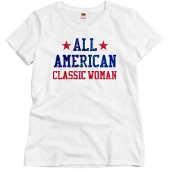 Appearance All American Classic Woman