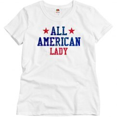 Appearance All American Lady