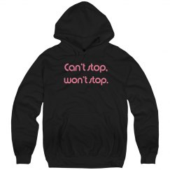 Can't Stop Adult Hoodie