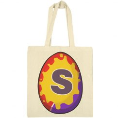 Personalized Initial Easter Egg Bag