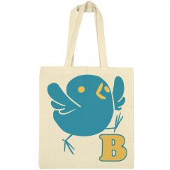 Personalized Initial Easter Bag