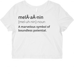 Define Melanin Crop