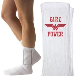 Girl Power Wonder Woman Socks