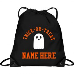 Cute Kids Trick Or Treat Bag Custom
