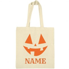 Custom Trick Or Treat Halloween Bag