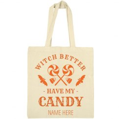 Custom Candy Trick Or Treat Bag