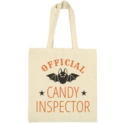Candy Inspector Trick Or Treat Bag