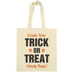 Custom Trick Or Treat Candy Bags