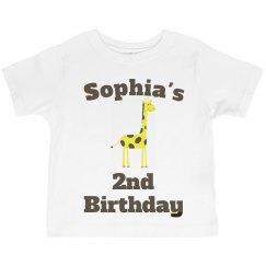 Sophia's 2nd birthday