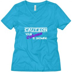 Caution (Blue/Purple)