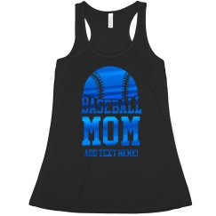 Shiny Custom Baseball mom
