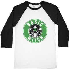Basic Witch Coffee Raglan