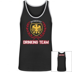 Oktoberfest Shield Drinking Team Tank