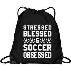 Stressed Blessed Soccer Obsessed