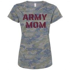 ARMY MOM CAMO TEE