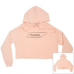 That Girl Knows Cropped Hoodie-Home TN
