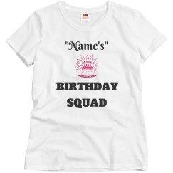 Birthday squad