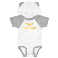 Wonder Baby Custom Name Gift