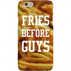 Fries Before Guys iPhone Case