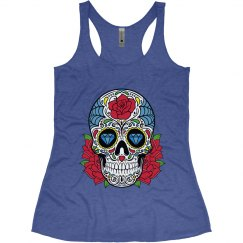 Sugar Skull Workout Tank