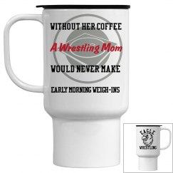 Wrestling mom coffee mug